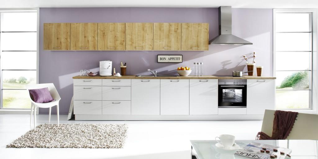 Nolte Küche Manhattan weiß + chalet Eiche › Madeia & Wesfa Ihre ...