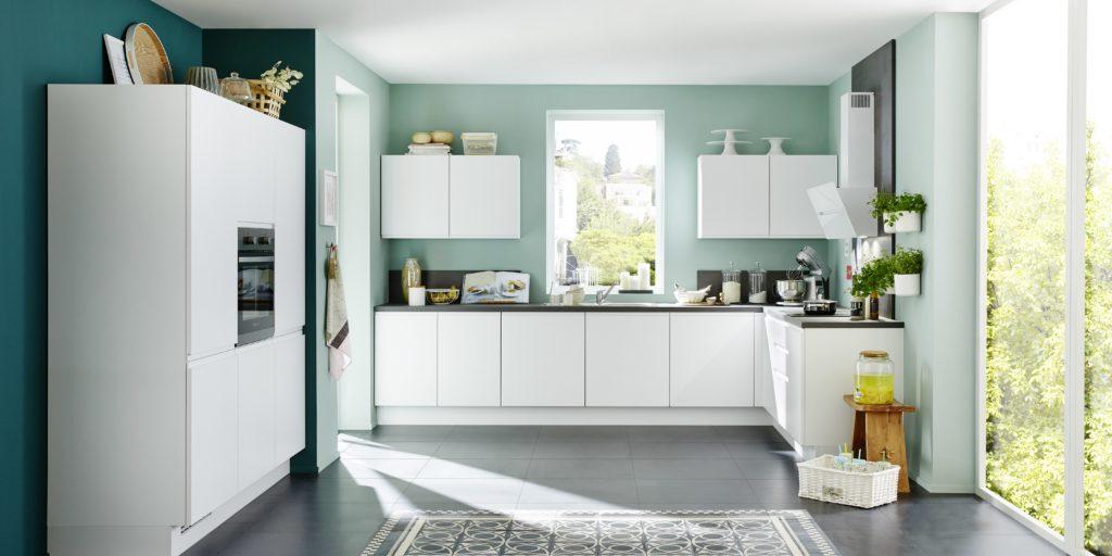 Nobilia Küche Inline weiß matt › Madeia & Wesfa Ihre Traumküche ...